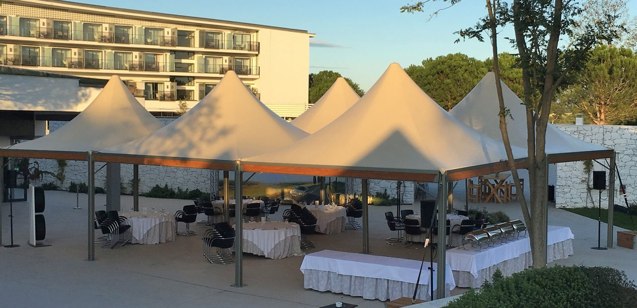 Rental and sale of Tents