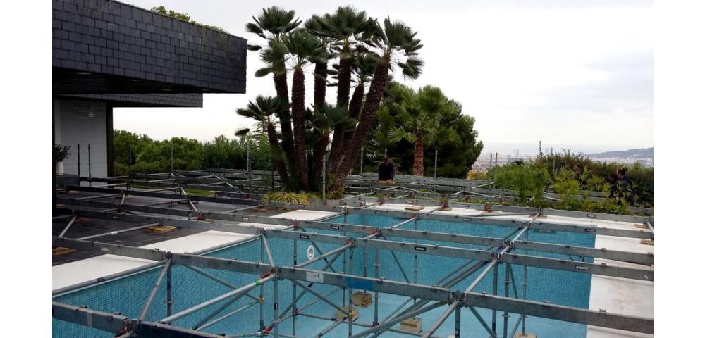 cubrimiento de piscinas cubrir piscinas de forma temporal