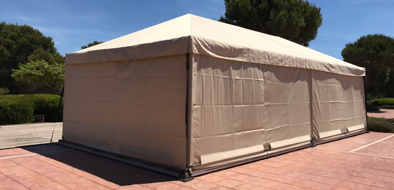 Modular Tents in various events