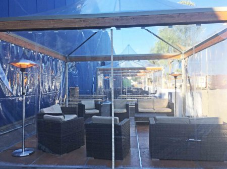 Tents VIP TRANSPARENT for corporate event