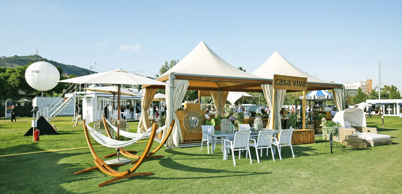 Evento de decoración con nuestras carpas Eventop VIP