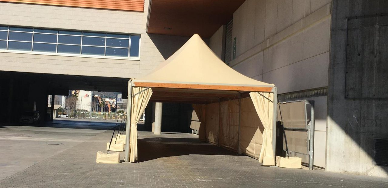 Security in tents events